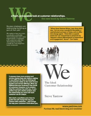 Yastrow & Company magazine ad for We