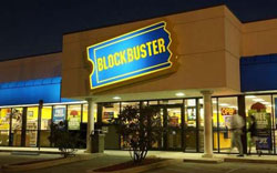 Blockbuster is the market loser