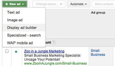 Creating a Google Image Ad