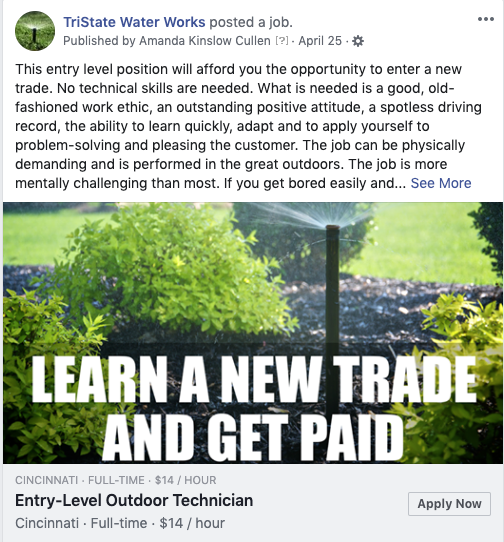 Employment Laws Still Apply When Advertising Jobs on Facebook