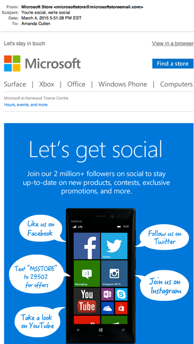 Microsoft's Social Media Marketing Fail
