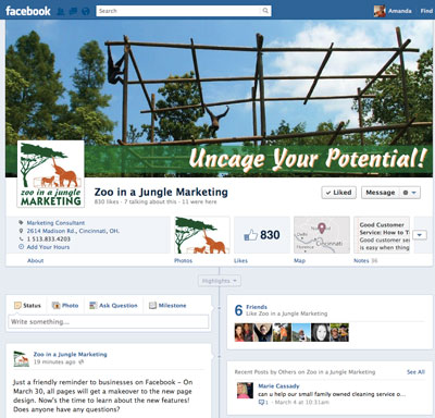 A Primer on the New Facebook Page Design