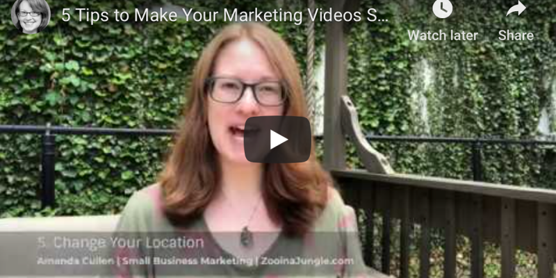 5 Tips to Make Your Marketing Videos Sparkle