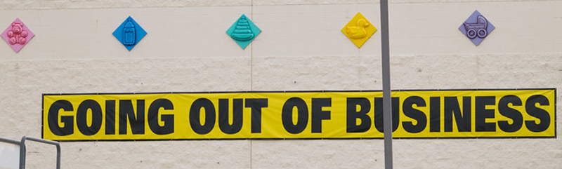 Going Out of Business Sale: Email Marketing Edition