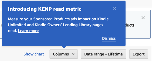 Attention Authors: Amazon Ads Now Reports on Pages Read