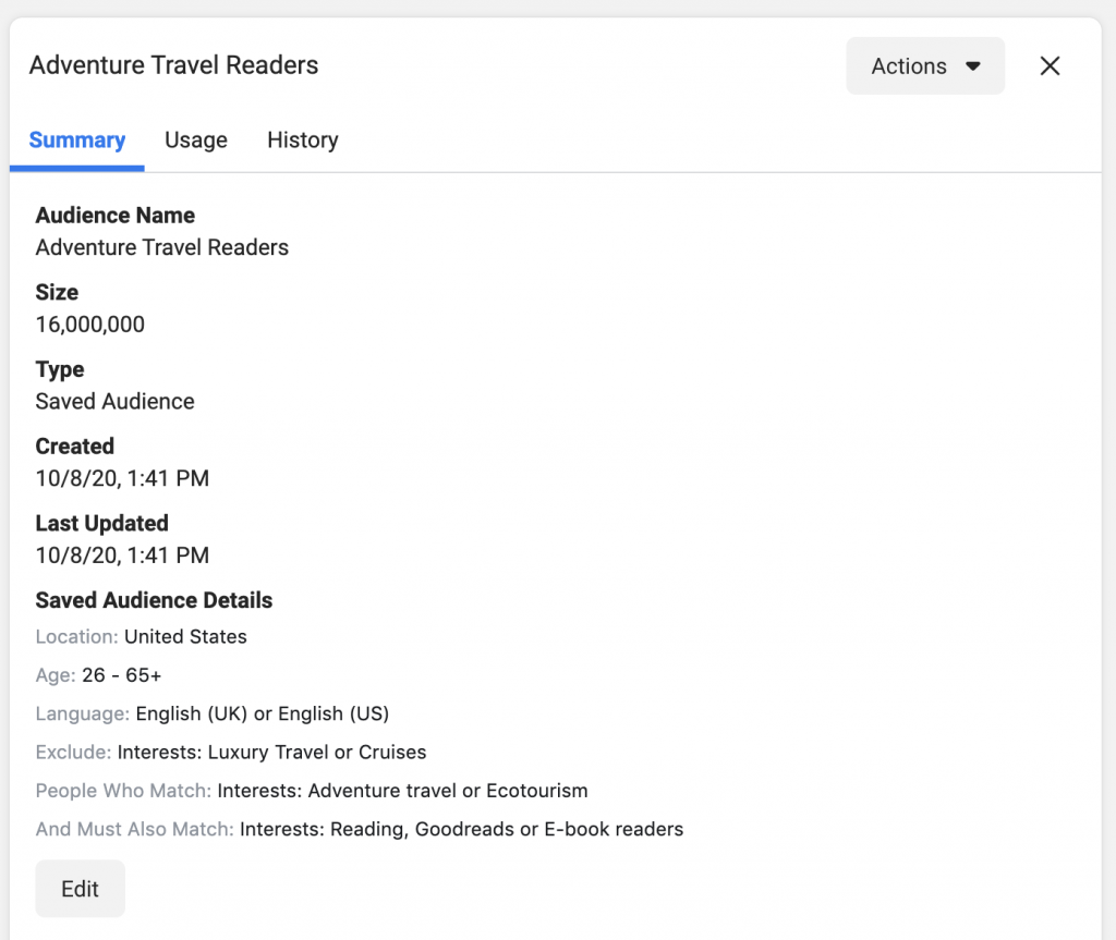 How to Create a Really Effective Facebook Ad Audience